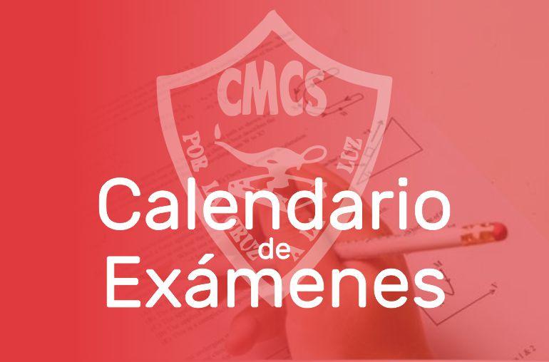 Calendario de Exámenes Primaria