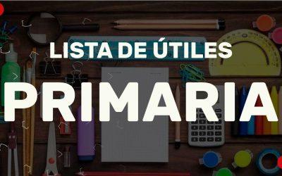 LISTAS ESCOLARES PRIMARIA 2021-2022